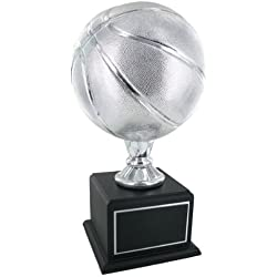 Championship Silver Basketball Trophy by Awards and Gifts R Us