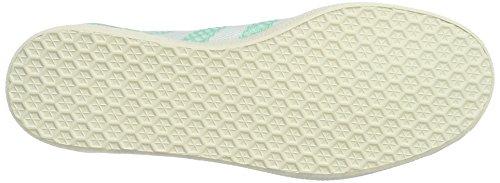 adidas Gazelle Primeknit, Scarpe da Ginnastica Basse Donna Verde (Easy Green/footwear White/chalk White)