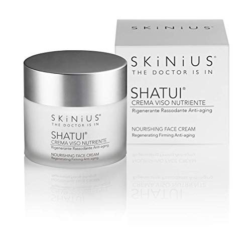 skinius shatui crema viso nutriente rigenerante rassodante anti-aging - 50ml