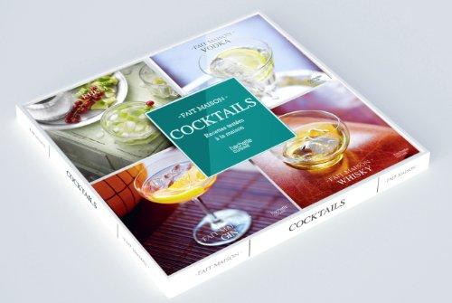 Coffret 4 mini-livres Cocktails par Collectif