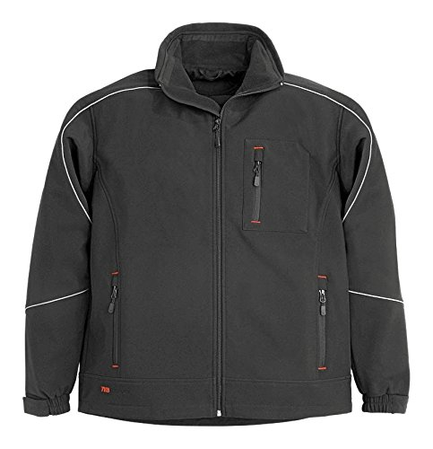 FHB-ZUNFTKLEIDUNG 2068005 - FHB MEMBRANA IMPERMEABLE CHAQUETA 785  NEGRO  78519