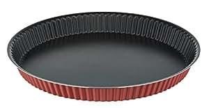 Tefal J0448302 J'Assure Comme un Chef Moule à Tarte Aluminium Rose 27 cm