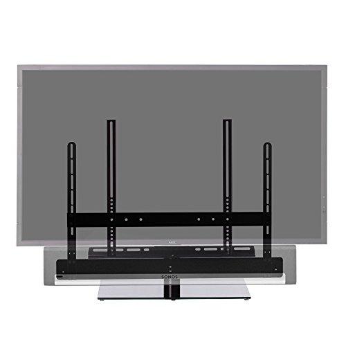 Cavus TV-Ständer passend für Sonos Playbar - schwenkbare VESA Basis für Soundbar & TV 32-55 Zoll - CAVSTL-PBF -