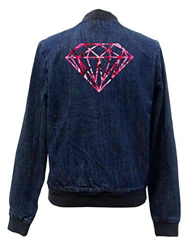 Diamond Roses Jeans Bomberjacke Certified Freak-XL