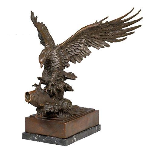 Toperkin Statue Hand Crafted Golden Adler Bronze Skulptur Home Dcoration Adler Bronze Statue Tier Art TPY-681