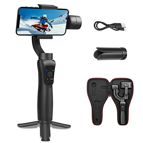 SYOSIN S5 3-Axes Gimbal pour Smartphone et GoPro,...