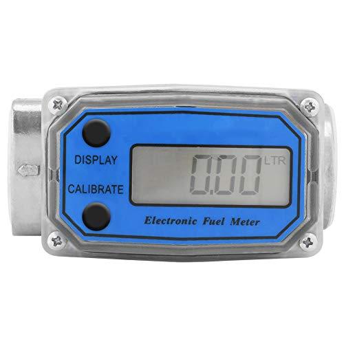 Turbine Durchflußmesser Durchflussmesser Mini Digitaler Durchflussmesser Wasser Messer Anemometer Digitale Gas Öl Kraftstoff Flow Meter für Kraftstofföl Harnstoff Chemisches und Flüssiges Wasser