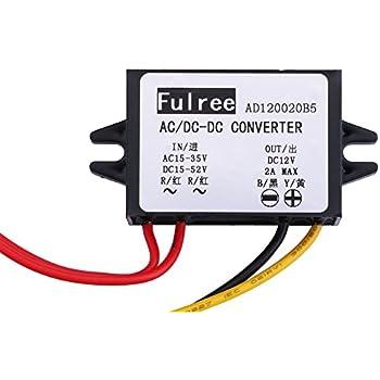 Waterproof DC to DC Converter 12V to 7.5V Power Module Voltage Regulator Silver /& Black
