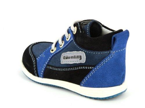 Däumling 050021 Kinder Unisex Lauflernschuhe schmal Blau (47 turino ozean)