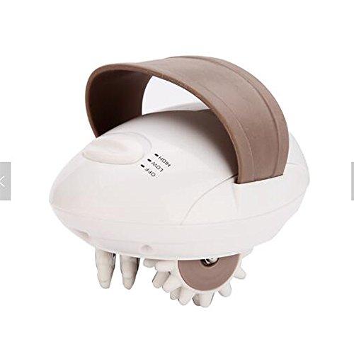 Körper Schlankere Elektrische Mini 3D Rad Gesicht Massagegerät Weiß Weißer Elektrischer Ebene