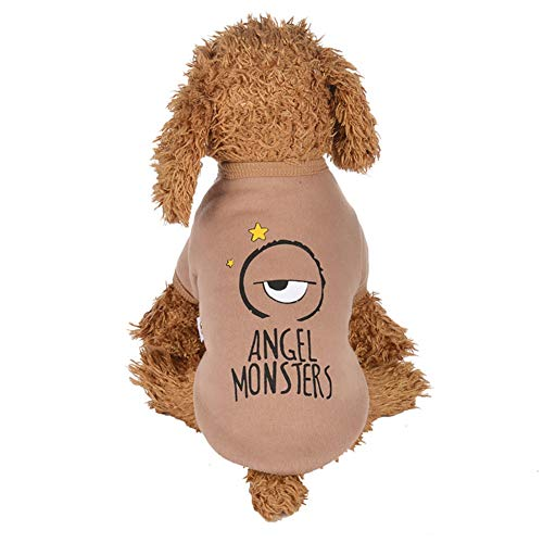 Bluelucon Haustier Kleidung Hundepullover Hunde Kleider welpen Pullover Hunde Warmer Mantel für Katzen Kleine Hunde Chihuahua Welpe Teddy Pudel