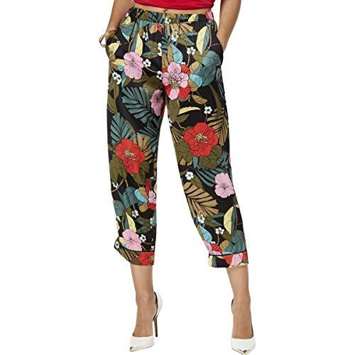 Guess Damen Printed Soft Pants - - X-Klein