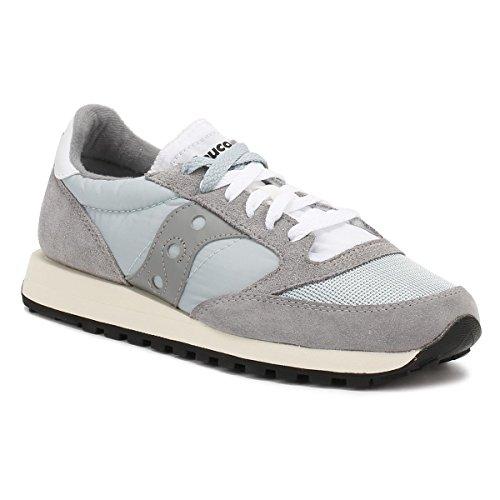 Saucony Jazz o Vintage, Sneaker Uomo Grigio (Wild Dove/Grey 5)