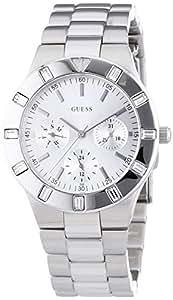 Guess Damen-Armbanduhr XS Analog Edelstahl W11610L1