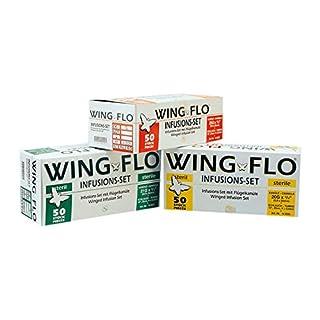 Wingflo 0,8 x 20 mm 21G grün 50 Stück