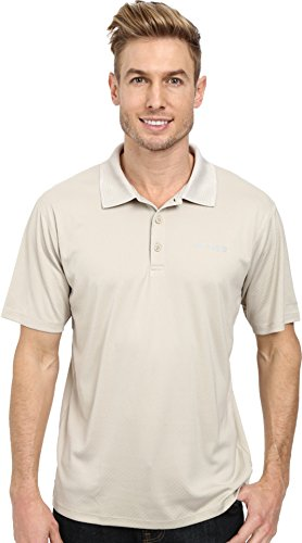 Columbia Men 's Grupa Zero rulestm Polo Shirt Fossil