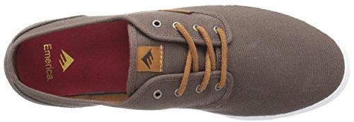 Emerica Wino Cruiser, Chaussures de skateboard homme BROWN/WHITE