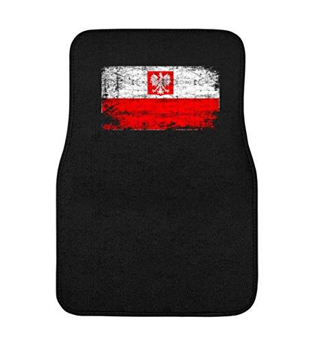 Generic Polska Poland Polen Vintage Adler Flagge Retro - Schlichtes Und Witziges Design - Automatte