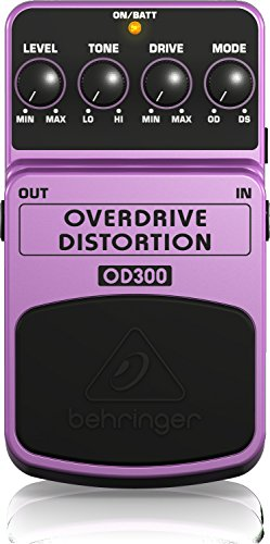 Behringer OVERDRIVE/DISTORTION OD300 Overdrive/DistortionEffektpedal