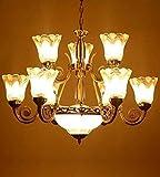 #6: Imper!al Imported Antique Design Modern Chandelier [12 Lamps Chandelier]