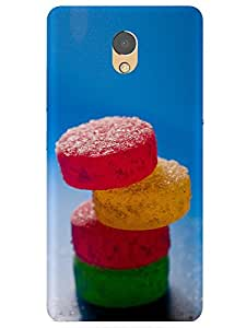 Lenovo P2 Smartphone Abstract Printed Colorful Back Cover By Make My Print