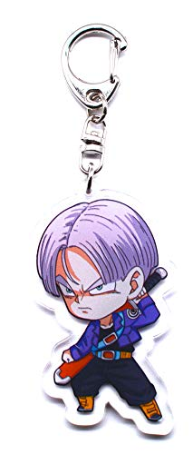 Anime Domain Llavero Dragonball Figura Chibi(Trunks