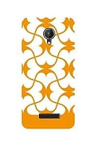 ZAPCASE PRINTED BACK COVER FOR MICROMAX CANVAS SPARK Multicolor