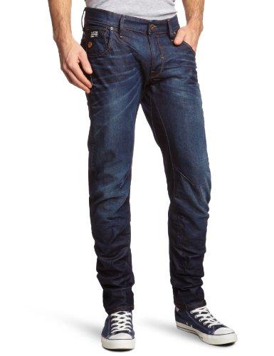 G-STAR Herren Slim Jeanshose Arc 3D, Gr. W34/L32 (Herstellergröße: W34/L32), Blau (Dk Aged 89)