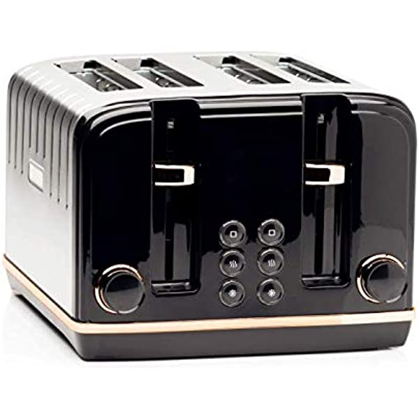 Haden Salcombe Deep Teal 4 Slice Toaster