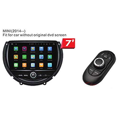 Mini Cooper One Im Dashboard-Video-Player, 7-Zoll-Touchscreen-Multimedia-Player, GPS-Multifunktionsnavigation, Android-System, WiFi, Bluetooth (Cooper Dvd Navigation Mini)