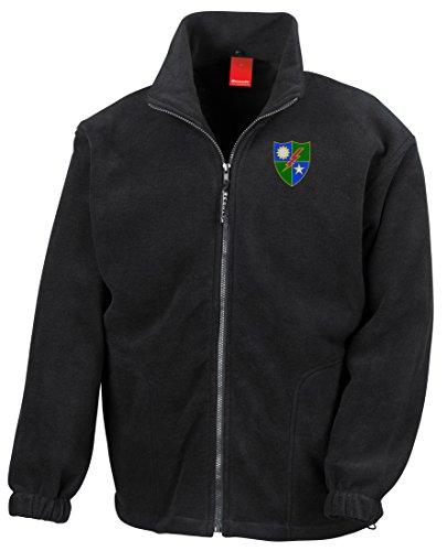 Regiment Embroidered Logo - Full Zip Fleece By Military online (Vietnam-veteran-fleece-jacke)