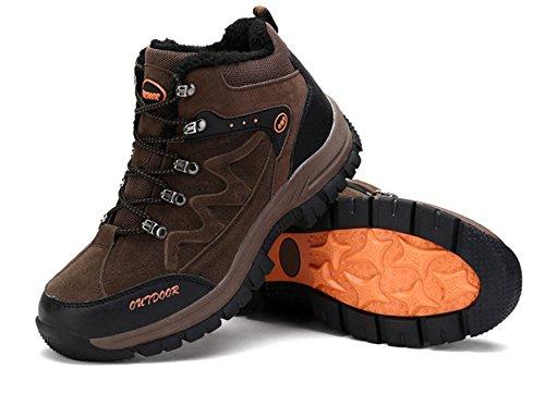 XI-GUA ,  Scarponcini da camminata ed escursionismo uomo Braun,Plus-Samt