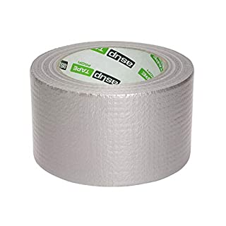 Asup tape professional, super strong standard adhesive tape for professional use, sticks even in cold weather, 72 mm x 50 m, in silver colour