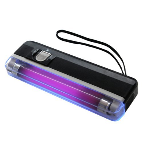 Handheld UV Black Light Torch Portable Blacklight with LED by Voila -
