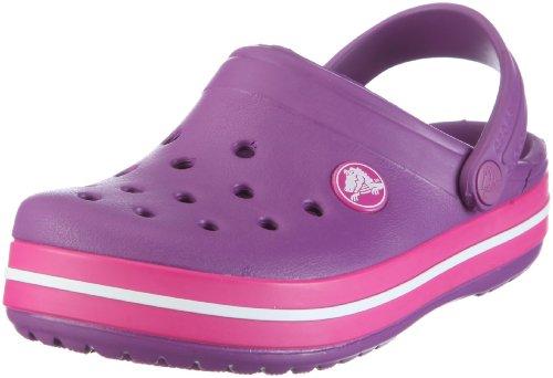 Crocs Crocband Kids, Sabots mixte enfant Violet (Dahlia/Fuchsia)
