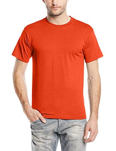 Betende HŠnde auf American Apparel Fine Jersey Shirt Orange
