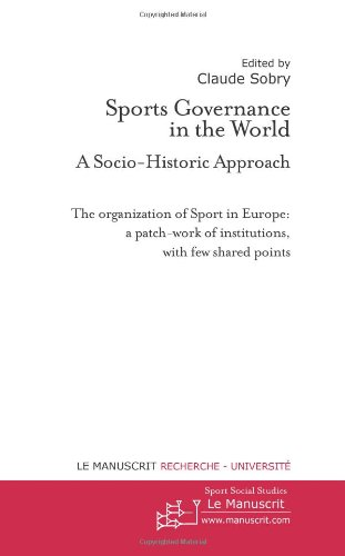 Sports Governance in the World par (Broché - Nov 16, 2011)