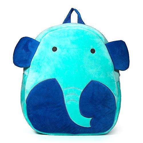 Czemo Mochila Infantil Guarderia Bolso del Cabrito Mochila para Niña y Niño 1-3 años (Elefante)