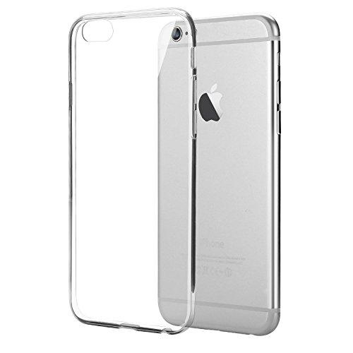 iPhone 6S Plus Hülle, Bingsale TPU Case iPhone 6S Plus Silikon Tasche Hülle - Silicon Protector Schutzhülle (iPhone 6S Plus, transparent)