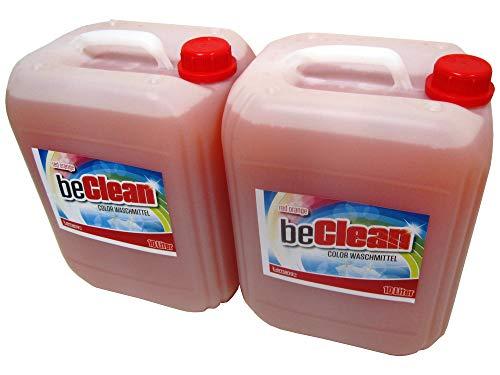 Flüssigwaschmittel orange 2x10l Colorwaschmittel für bunte Wäsche