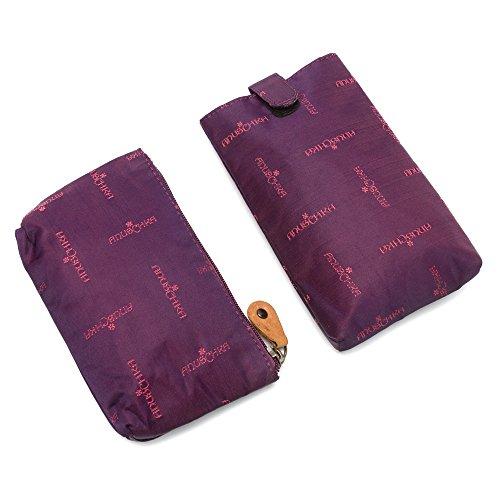 Anuschka sac à bandoulière de luxe dames en cuir peint à la main , 524 Blissful Birds Multicolore - Dreamy Dahlias