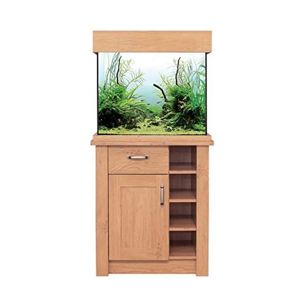 Oak Aquarium Fish Tanks Oak Style & Oak Shades (63cm / 110L, Oak Style)