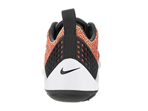 Nike Lunarestoa 2 Se, Chaussures de Running Homme, Noir (Schwarz) Naranja / Negro / Blanco (Brght Crmsn / Anthrct-Fchs Flsh)