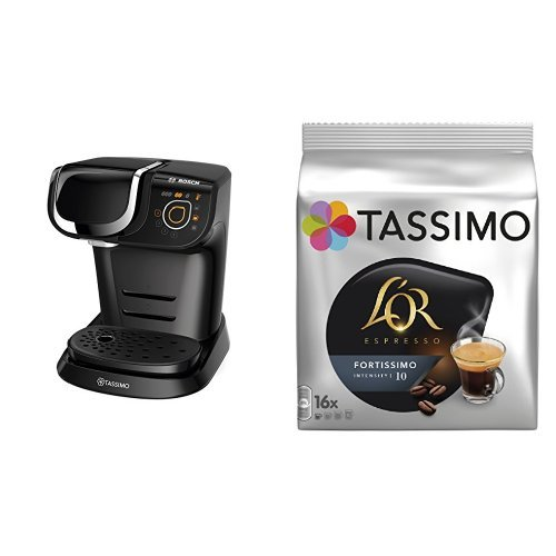 Bosch TAS6002 Tassimo My Way (color negro) + Pack café 5 paquetes (80...