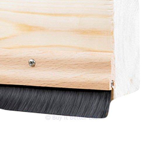 3x-door-bottom-brush-draught-excluder-wood-effect-838mm