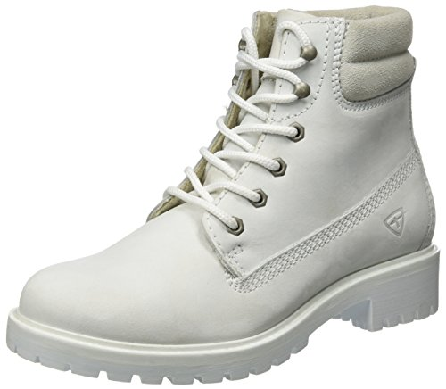 Tamaris Damen 25242 Stiefel, Weiß (White Uni), 37 EU