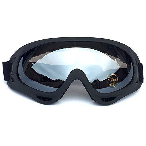 Yiph-Sunglass Sonnenbrillen Mode Skibrille über Brille Ski Snowboard Brille für Unisex Anti-Fog (Color : Rot, Size : One Size)