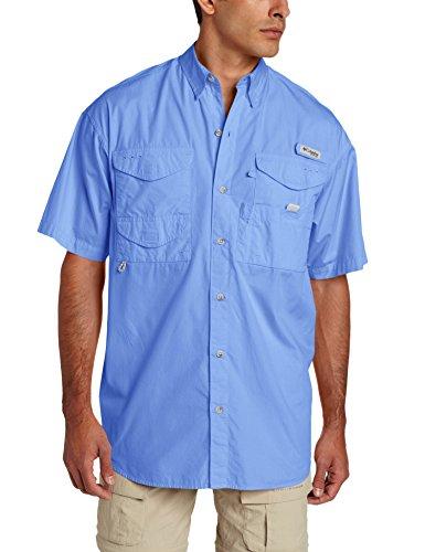Columbia Herren Bonehead Short Sleeve T-Shirt Angeln (weiße Kappe, 1 X) (Shirt Herren Bonehead Angeln)