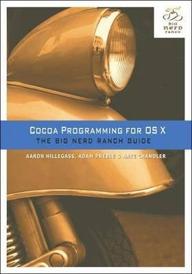 Portada del libro [(Cocoa Programming for OS X : The Big Nerd Ranch Guide)] [By (author) Aaron Hillegass ] published on (April, 2015)