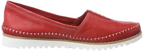 Andrea Conti 0025710, Mocassins Femme Rot (Rot)